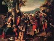 Correggio Adoration of the Magi oil painting picture wholesale