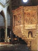 DIANA, Benedetto Pulpit oil
