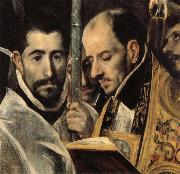 El Greco Details of The Burial of Count Orgaz oil painting picture wholesale