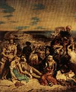 Eugene Delacroix The Massacer at Chios oil painting picture wholesale