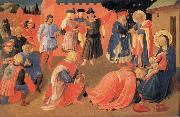 Fra Angelico The Adoration of the Magi oil painting