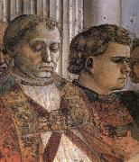 Fra Filippo Lippi Details of The Celebration of the Relics of St Stephen and Part of the Martyrdom of St Stefano oil painting picture wholesale
