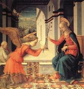 Fra Filippo Lippi The Annunciation with Donor oil painting picture wholesale