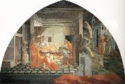 Fra Filippo Lippi The Birth and Infancy of St Stephen oil painting picture wholesale