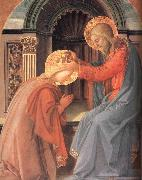 Fra Filippo Lippi Details of The Coronation of the Virgin oil painting picture wholesale