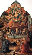 Fra Filippo Lippi The Death of St Jerome. oil painting picture wholesale