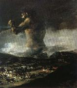 Francisco Goya The Colossus or Panic oil painting picture wholesale