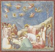 GIOTTO di Bondone Lamentation over the Dead Christ oil painting