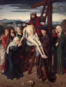 Gerard David The deposition oil painting picture wholesale