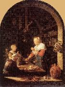Gerrit Dou The Grocer's Shop oil painting picture wholesale