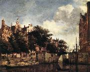 HEYDEN, Jan van der The Martelaarsgracht in Amsterdam oil painting picture wholesale