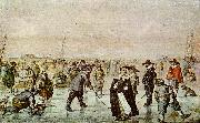 Hendrick Avercamp A Scene on the Ice oil painting picture wholesale