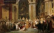 Jacques-Louis David Coronation of Napoleon oil painting picture wholesale