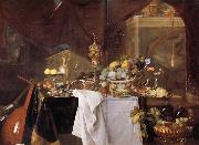 Jan Davidsz. de Heem Fruits et vaisselle:un dessert oil painting picture wholesale