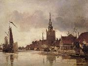Johann Barthold Jongkind Vue d'Overshie oil painting picture wholesale
