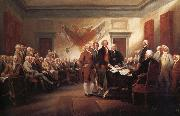 John Trumbull The Declaration of Independence 4 july 1776 oil painting artist