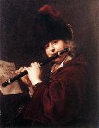 KUPECKY, Jan Portrait of the Court Musician Josef Lemberger oil painting artist