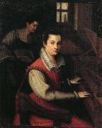 Lavinia Fontana Self-Portrait oil painting artist