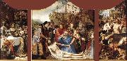 MASSYS, Quentin St John Altarpiece oil painting picture wholesale