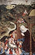 MASTER of the Polling Panels Adoration of the Child oil painting