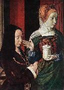 Master of Moulins Mary Magdalen and a Donator oil painting picture wholesale