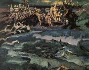 Mikhail Vrubel Thirty-Three Bogatyrs oil painting picture wholesale