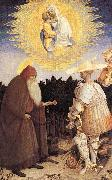 PISANELLO The Virgin and Child with St. George and St. Anthony the Abbot oil painting picture wholesale