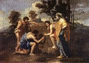 POUSSIN, Nicolas Et in Arcadia Ego oil painting picture wholesale