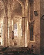 Pieter Jansz Saenredam The Interior of the Buurkerk at Utrecht oil painting picture wholesale
