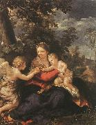 Pietro da Cortona Holy Family Resting on the Flight to Egypt oil painting picture wholesale