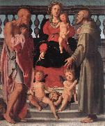 Pontormo, Jacopo Madonna and Child with Two Saints oil painting artist