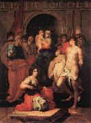 Rosso Fiorentino Madonna Enthroned and Ten Saints oil painting picture wholesale