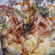 Umberto Boccioni Elasticity oil painting picture wholesale