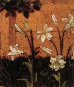 Upper Rhenish Master Details of The Little Garden of Paradise oil painting picture wholesale