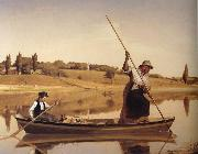 William Sidney Mount Eel Spearing at Setauket oil painting picture wholesale