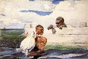 Winslow Homer The Turtle Pound oil painting picture wholesale