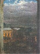 Adolph von Menzel The Anhalter Railway Station by Moonlight oil painting picture wholesale