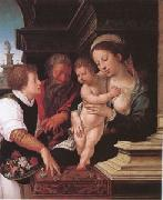 Barend van Orley The Holy Family (mk05) oil
