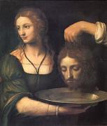 Bernadino Luini Salome Receiving the Head of John the Baptist (mk05) oil painting artist