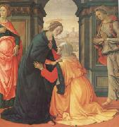 Domenico Ghirlandaio The Visitation (mk05) oil painting picture wholesale