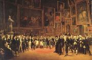 Francois-Joseph Heim Charles X Distributing Awards to the Artists Exhibiting at the Salon (mk05) oil painting picture wholesale