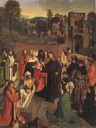 Geertgen Tot Sint Jans The Raising of Lazarus (mk05) oil painting picture wholesale