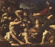 Giovanni Francesco Barbieri Called Il Guercino The Raising of Lazarus (mk05) oil painting picture wholesale