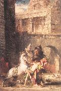 Gustave Moreau Diomedes Devoured by his Horses oil painting picture wholesale