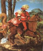 Hans Baldung Grien The Knight the Young Girl and Death (mk05) oil painting picture wholesale