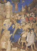 Jacquemart de Hesdin The Carrying of the Cross (mk05) oil painting picture wholesale
