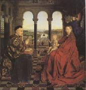 Jan Van Eyck The Virgin of Chancellor Rolin (mk05) oil painting picture wholesale