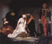 Jean Auguste Dominique Ingres The Execution of Lady Jane Grey (mk04) oil painting picture wholesale