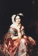 Jean Auguste Dominique Ingres Portrait of Baroness Betty de Rothschild (mk04) oil painting picture wholesale