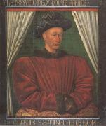 Jean Fouquet Charles VII King of France (mk05) oil